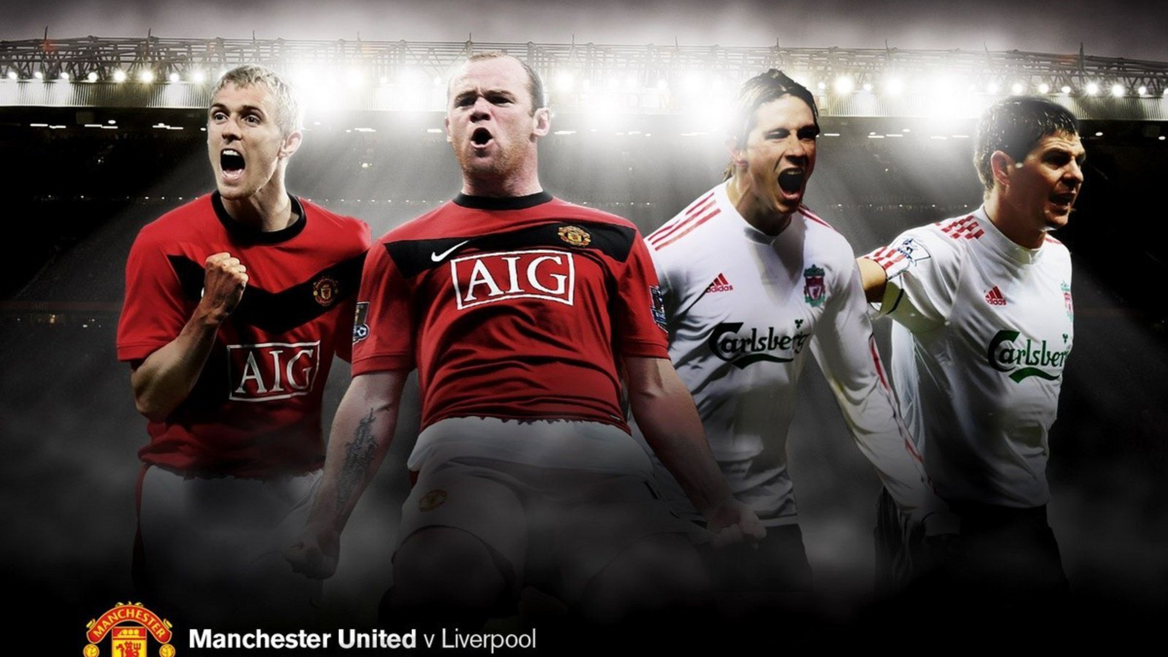 Old trafford football stars teams legend players wallpaper | AllWallpaper.in #12672 | PC | en