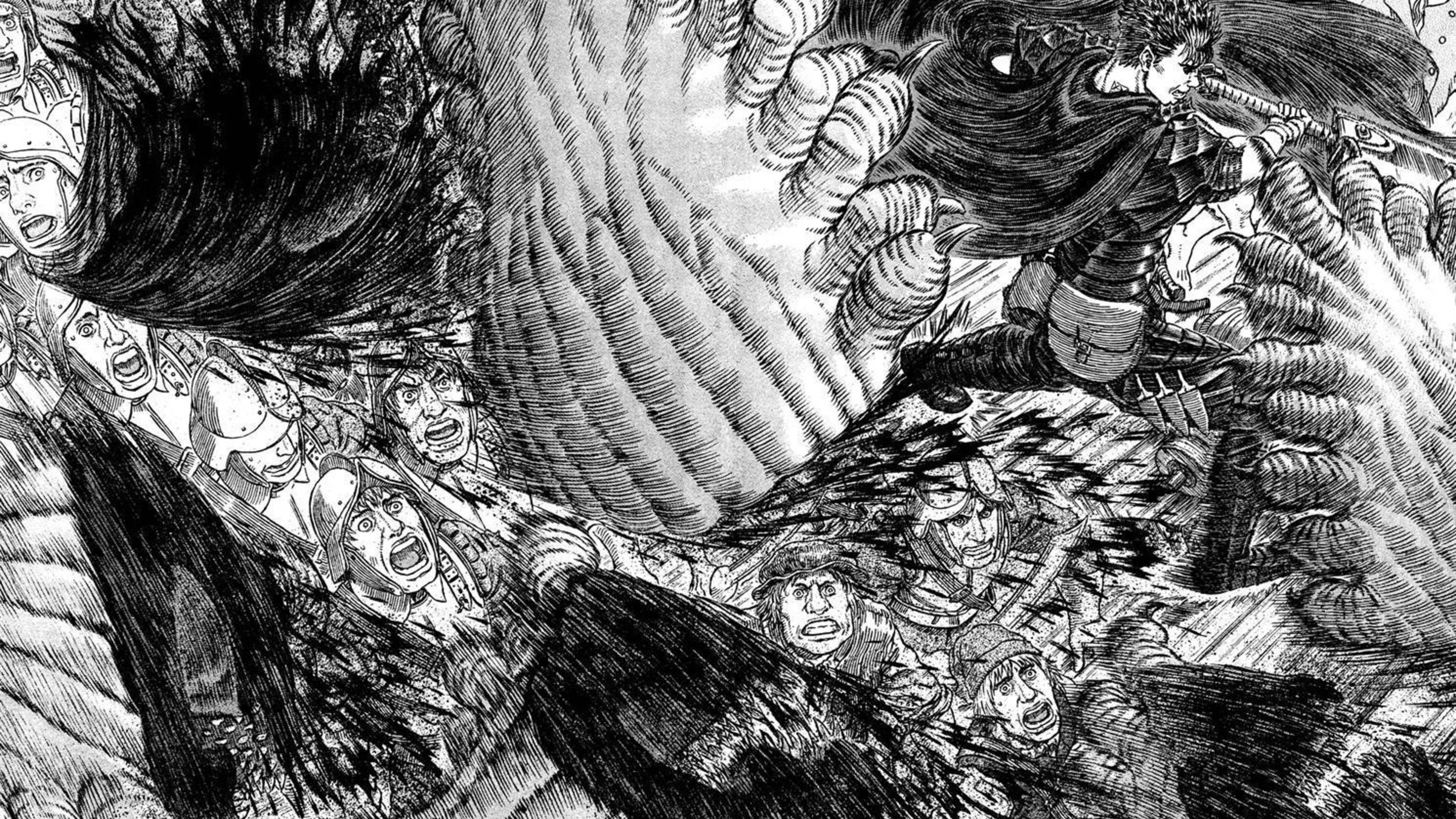 Berserk Manga Hd Wallpaper