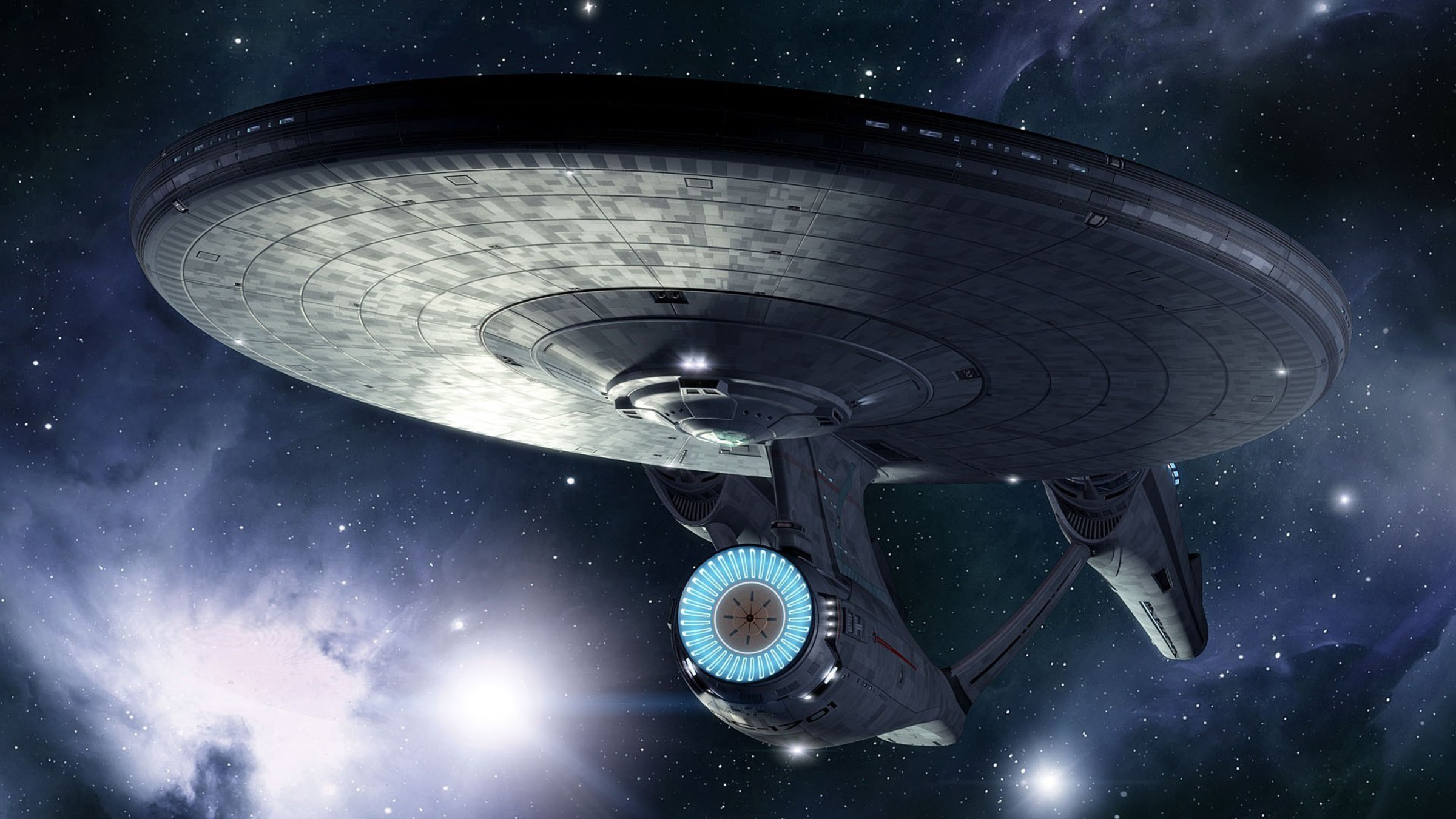 Futuristic star trek spaceships science fiction scifi wallpaper