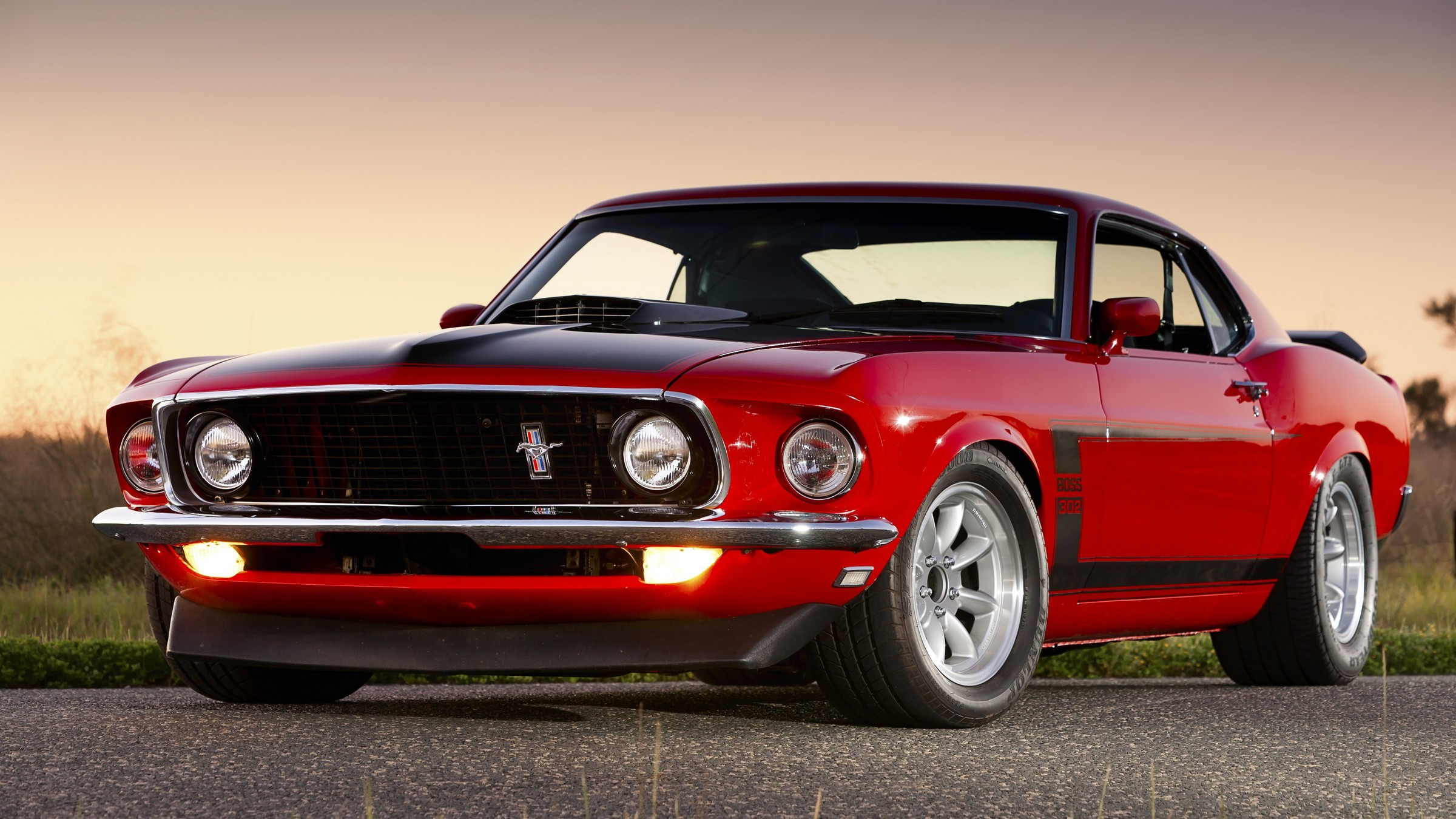 Cars Ford Mustang Boss 302 Muscle Car Wallpaper Allwallpaper In