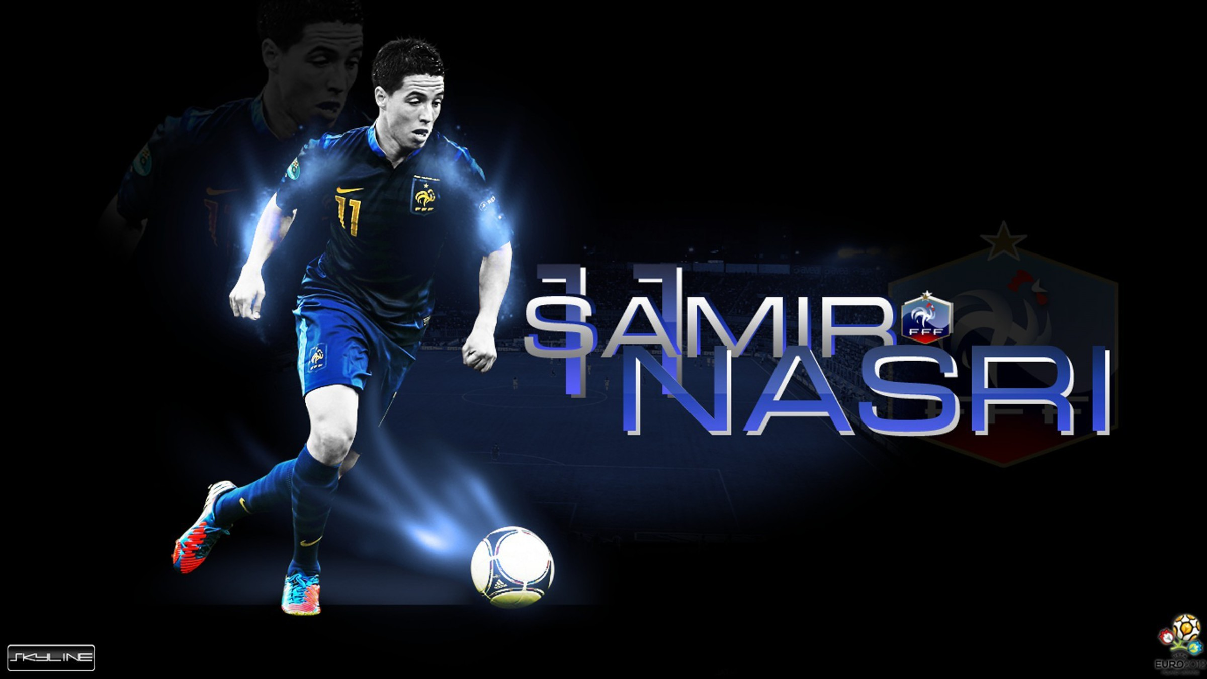 Sport Wallpapers Hd Game Images Players Desktop Images: France National Football Team Samir Nasri Players
