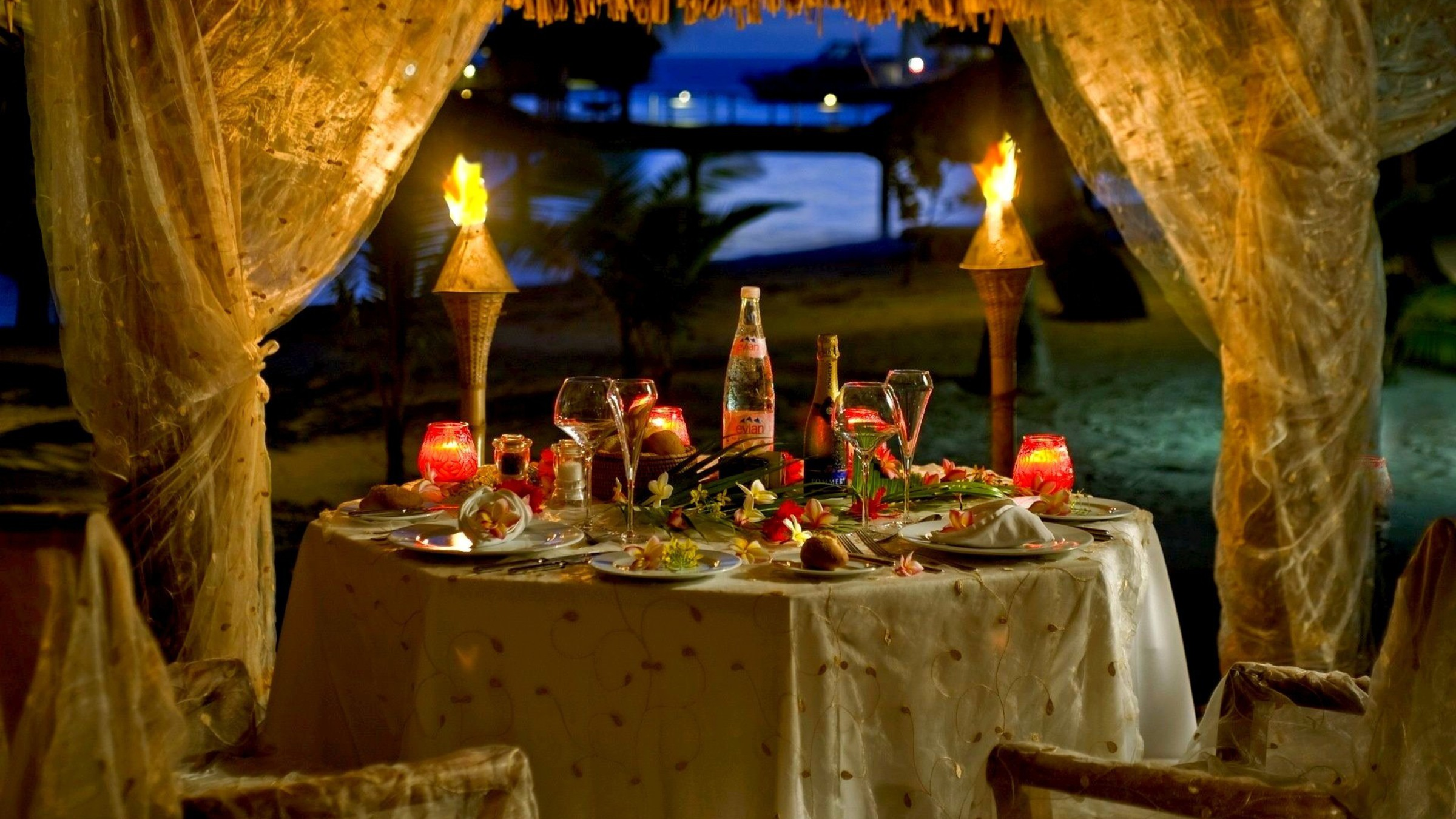 romantic dinner wallpaper for - photo #21