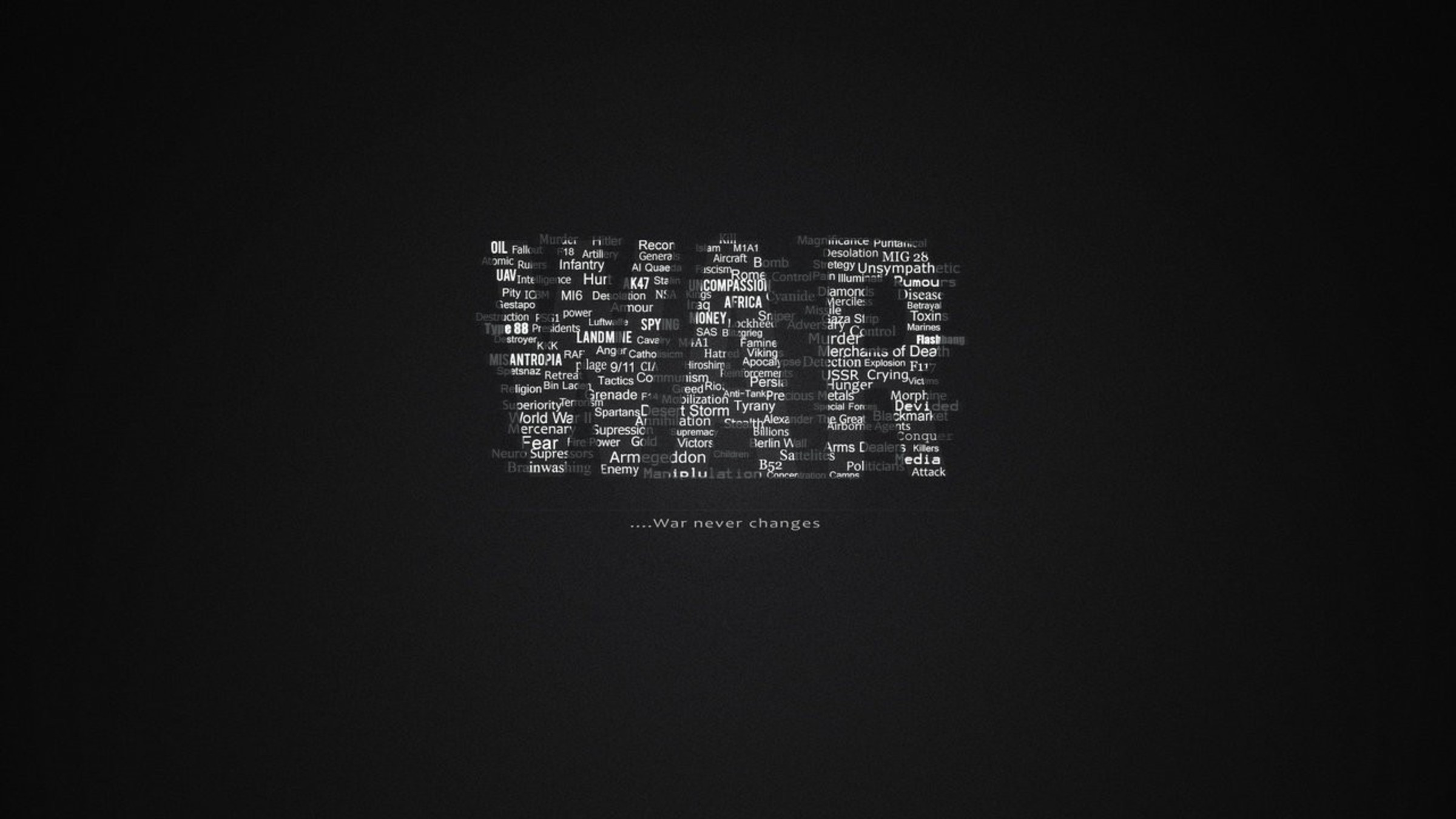 war text quotes black background wallpaper