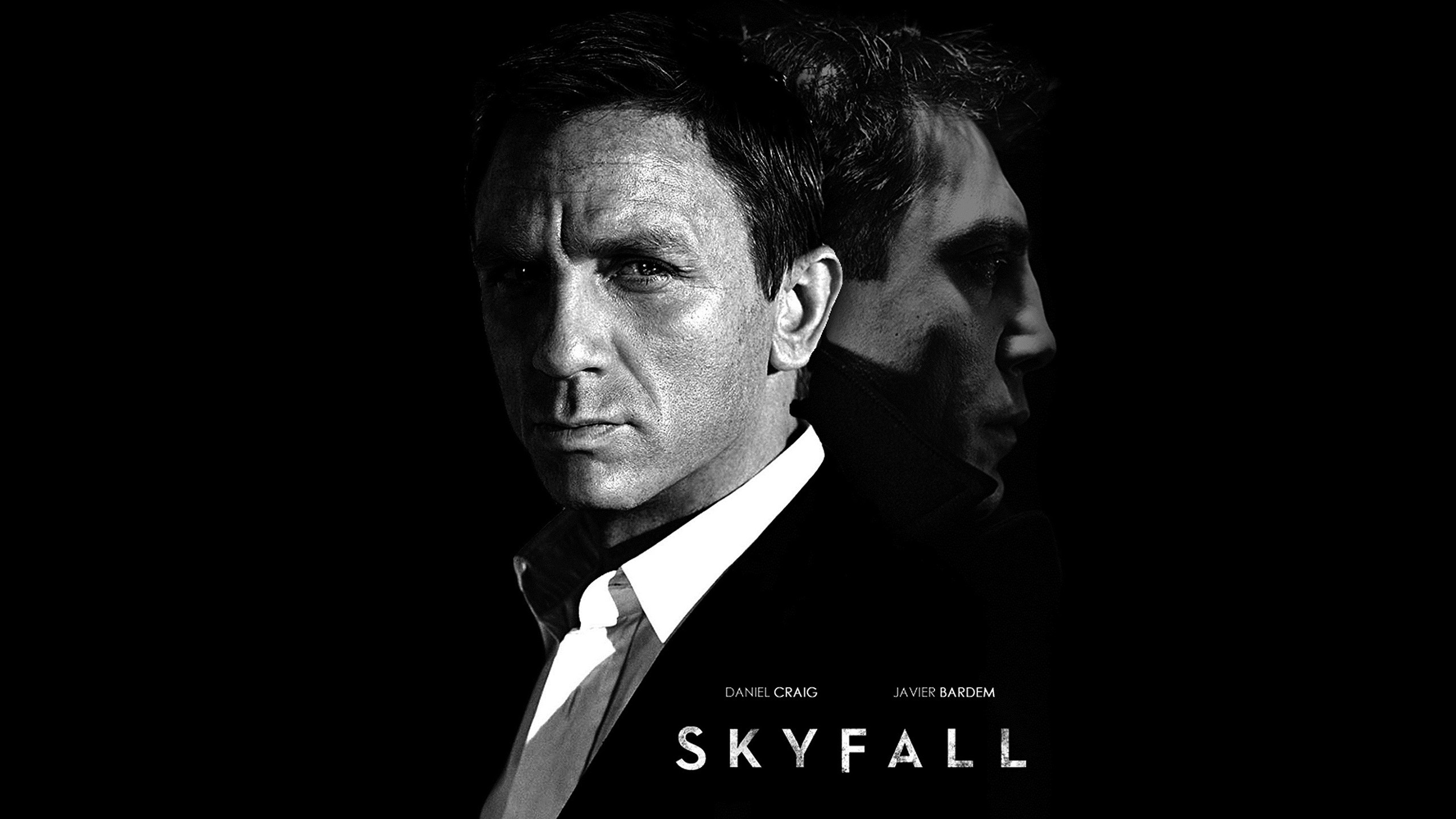 movies james bond daniel craig javier bardem skyfall wallpaper