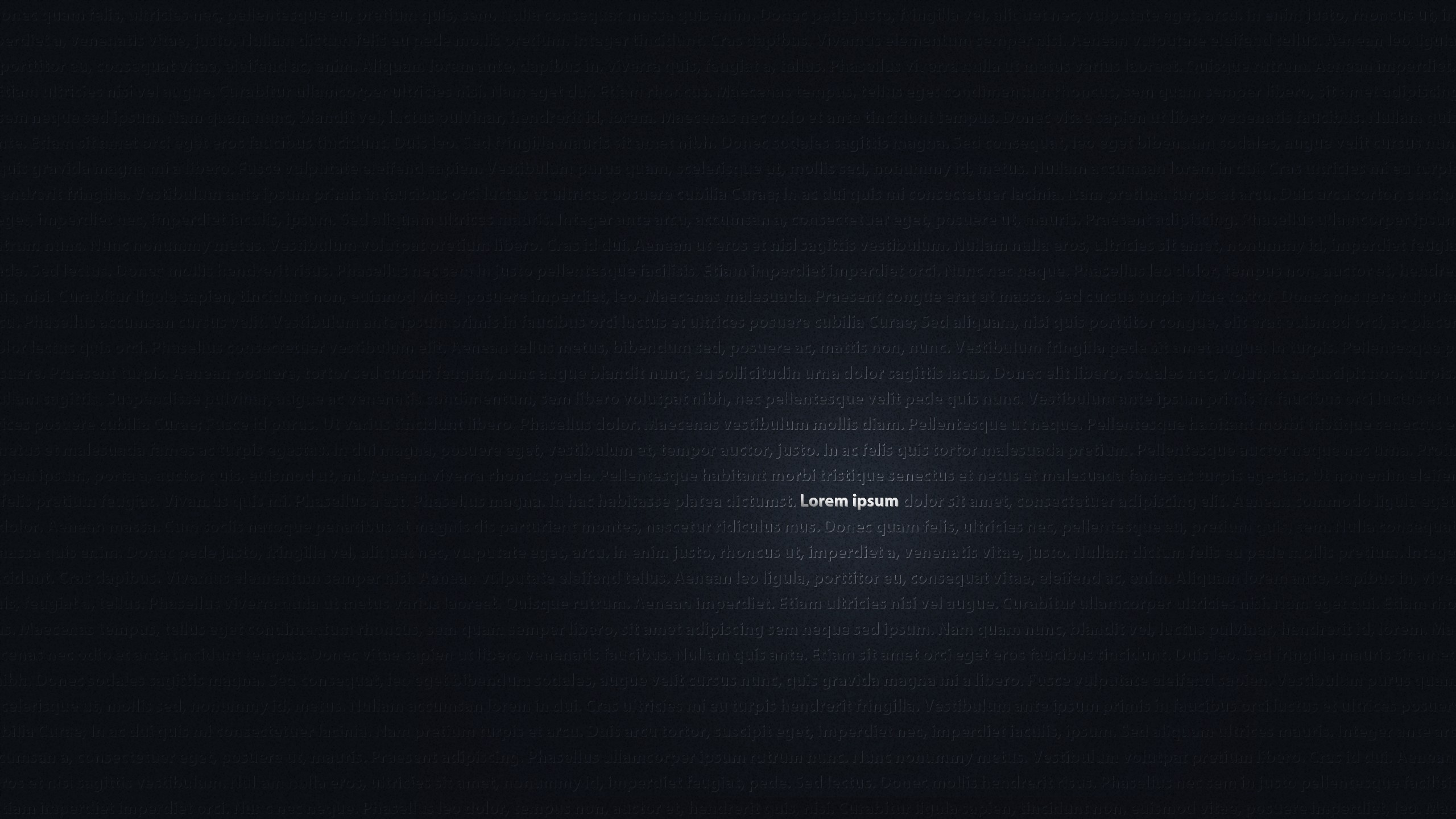 Blue Minimalistic Dark Typography Lorem Ipsum Background Wallpaper