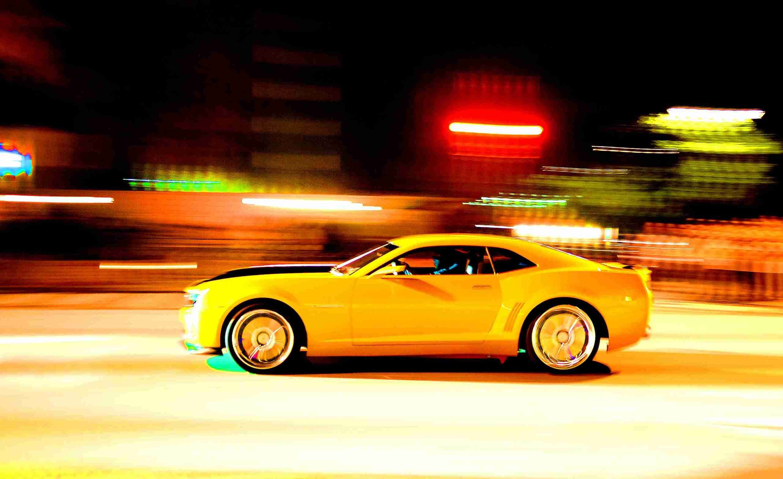 Transformers movies cars bumblebee chevrolet camaro yellow - Transformers bumblebee car wallpaper ...