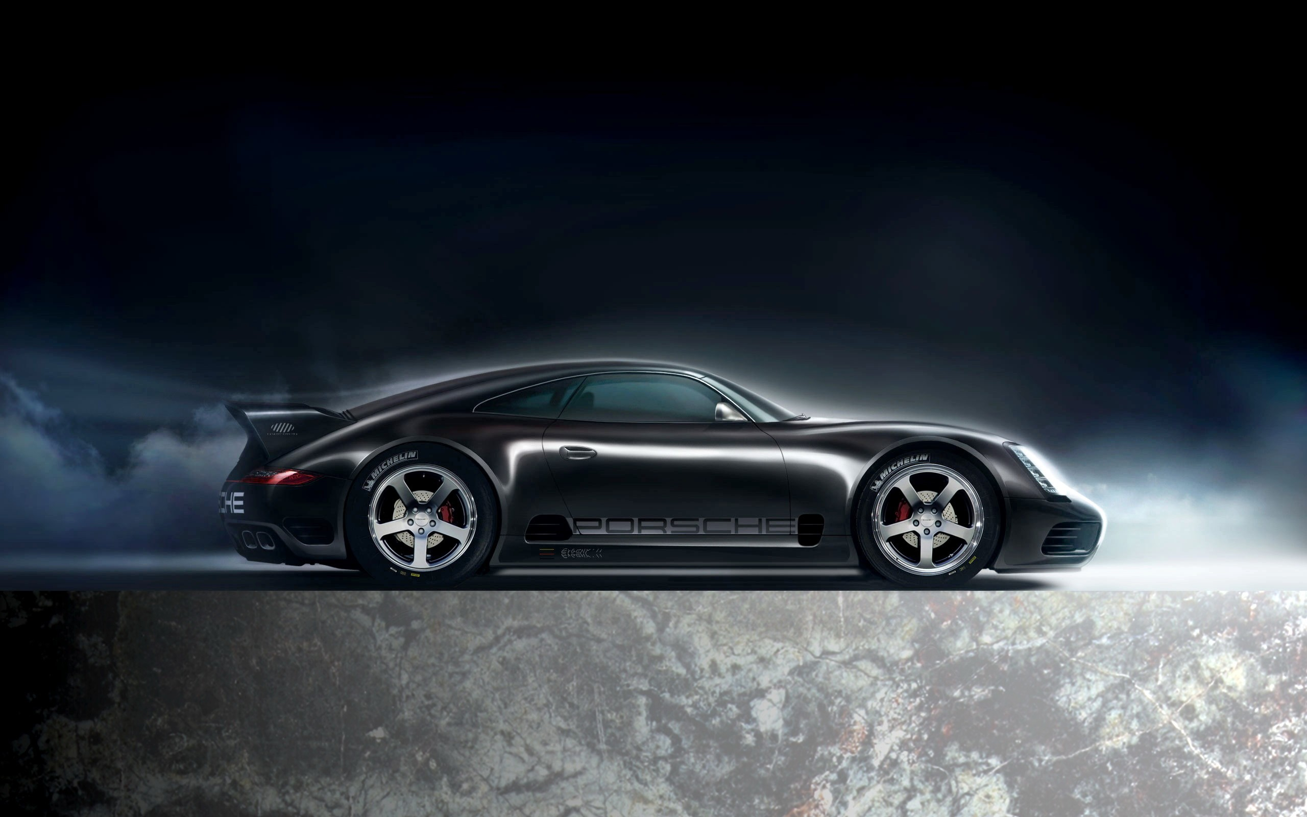 michelin porsche black cars wallpaper | allwallpaper.in #1426 | pc | en