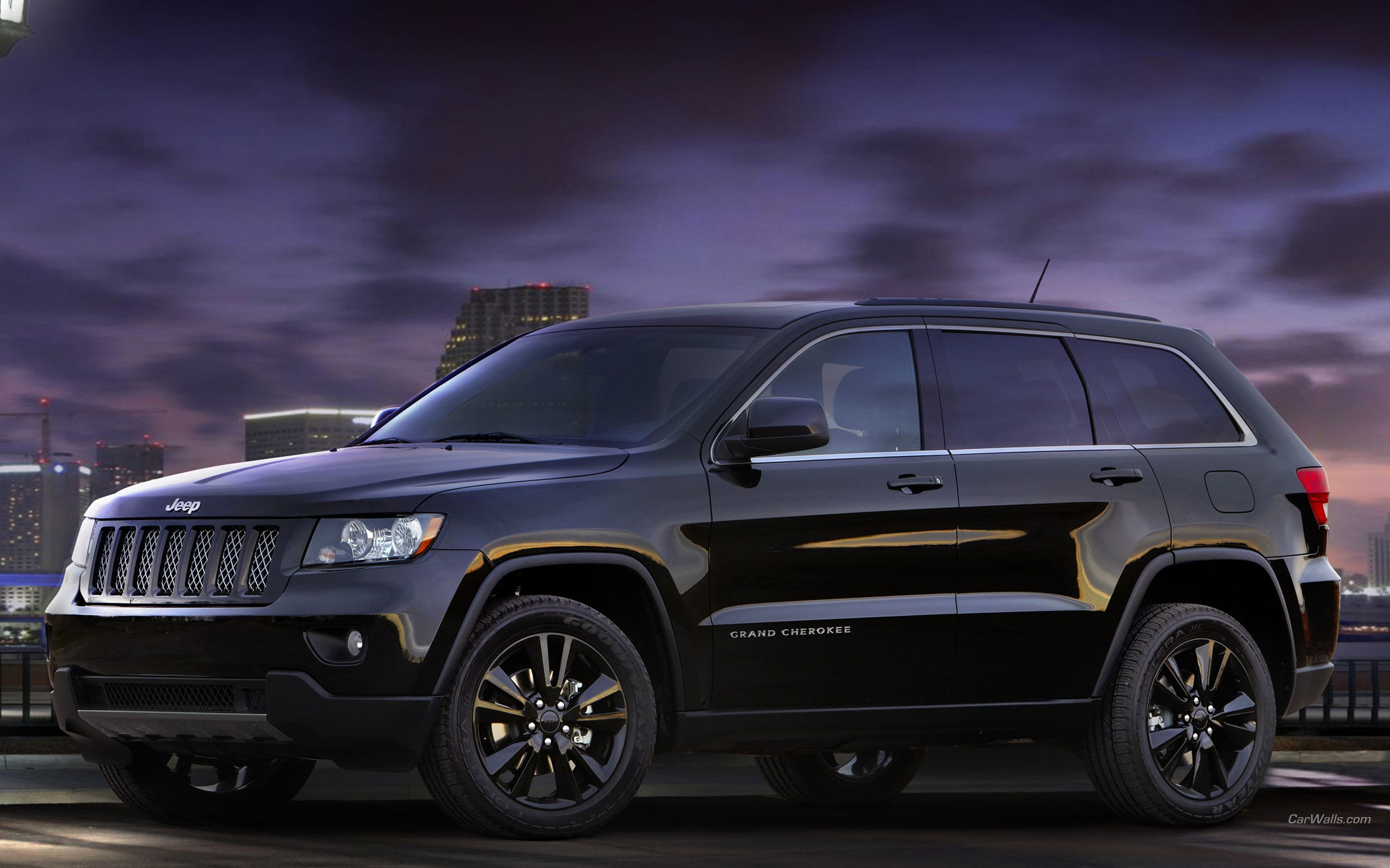 Grand Cherokee Jeep Cars Concept Art Wallpaper