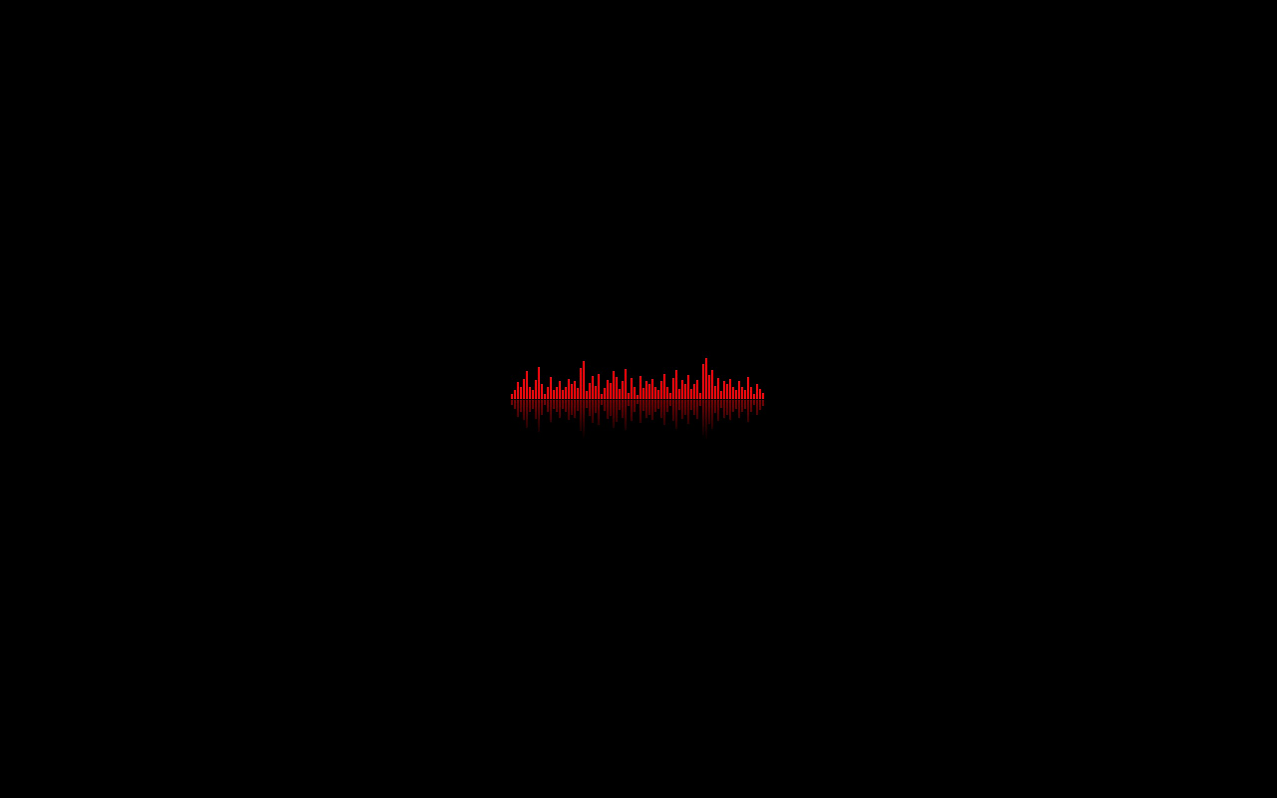 Black Background Dark Minimalistic Music Red Wallpaper