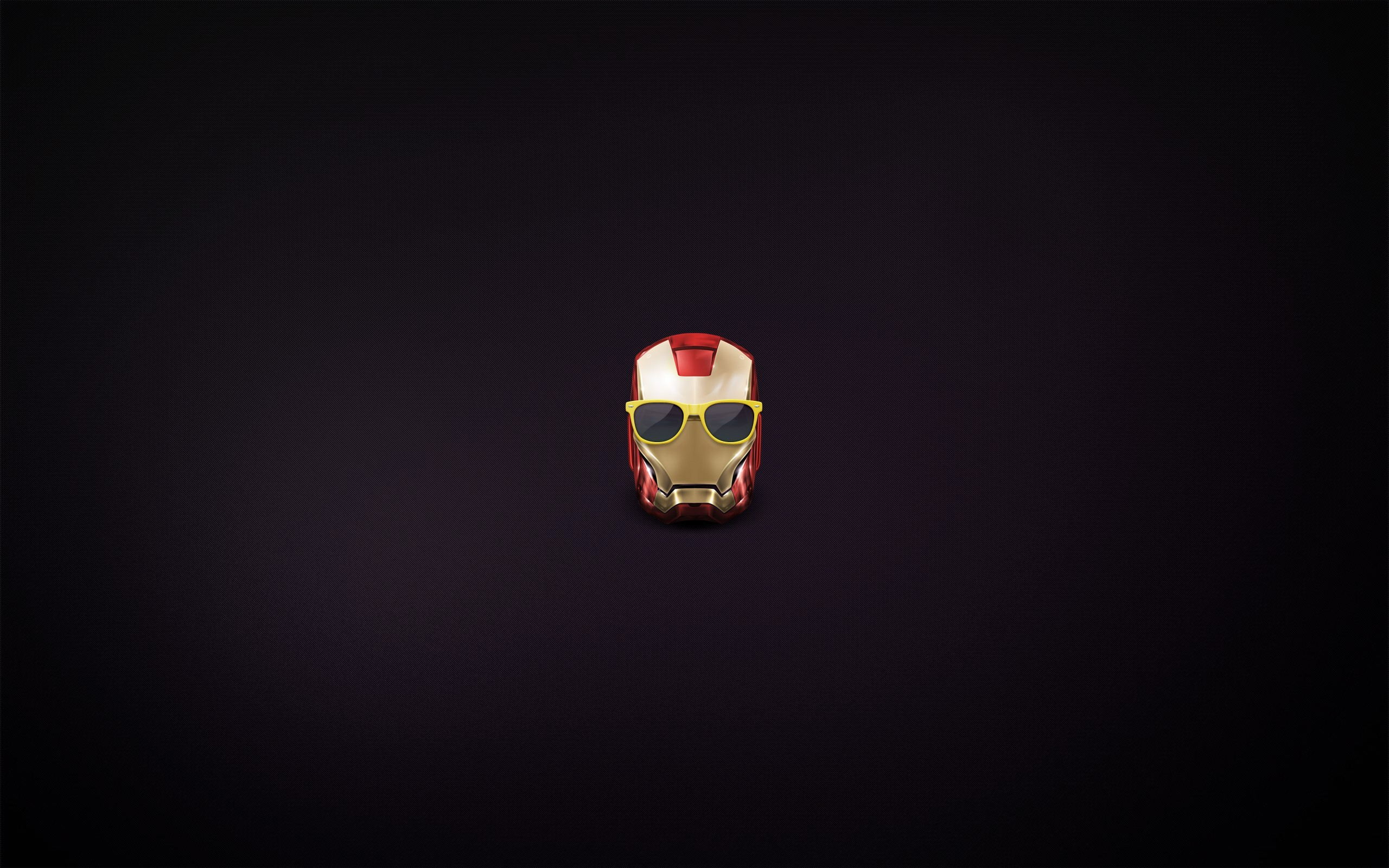 Minimalistic iron man mod glasses marvel comics wallpaper - Iron man heart wallpaper ...