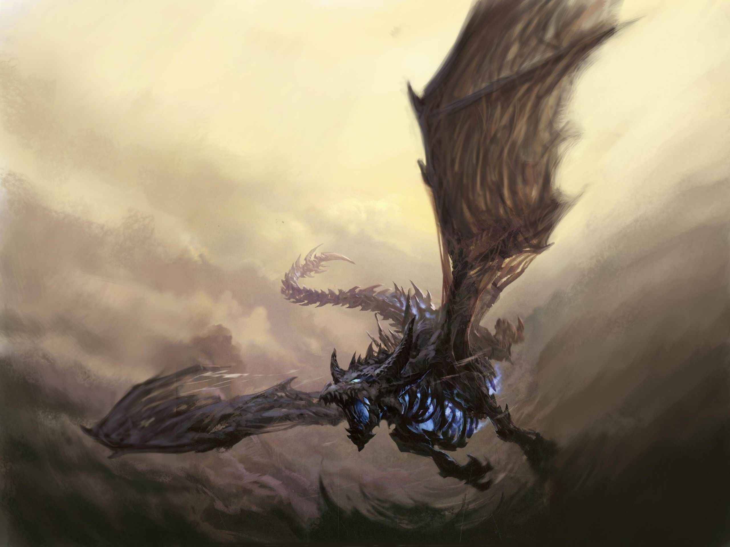 dragons volants world of warcraft art fantastique