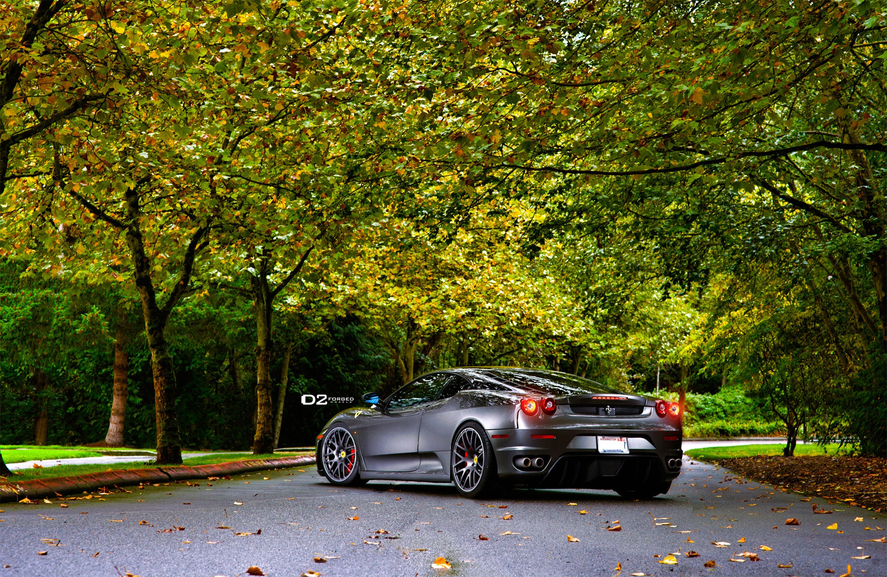 cars roads ferrari f430 scuderia wallpaper allwallpaper