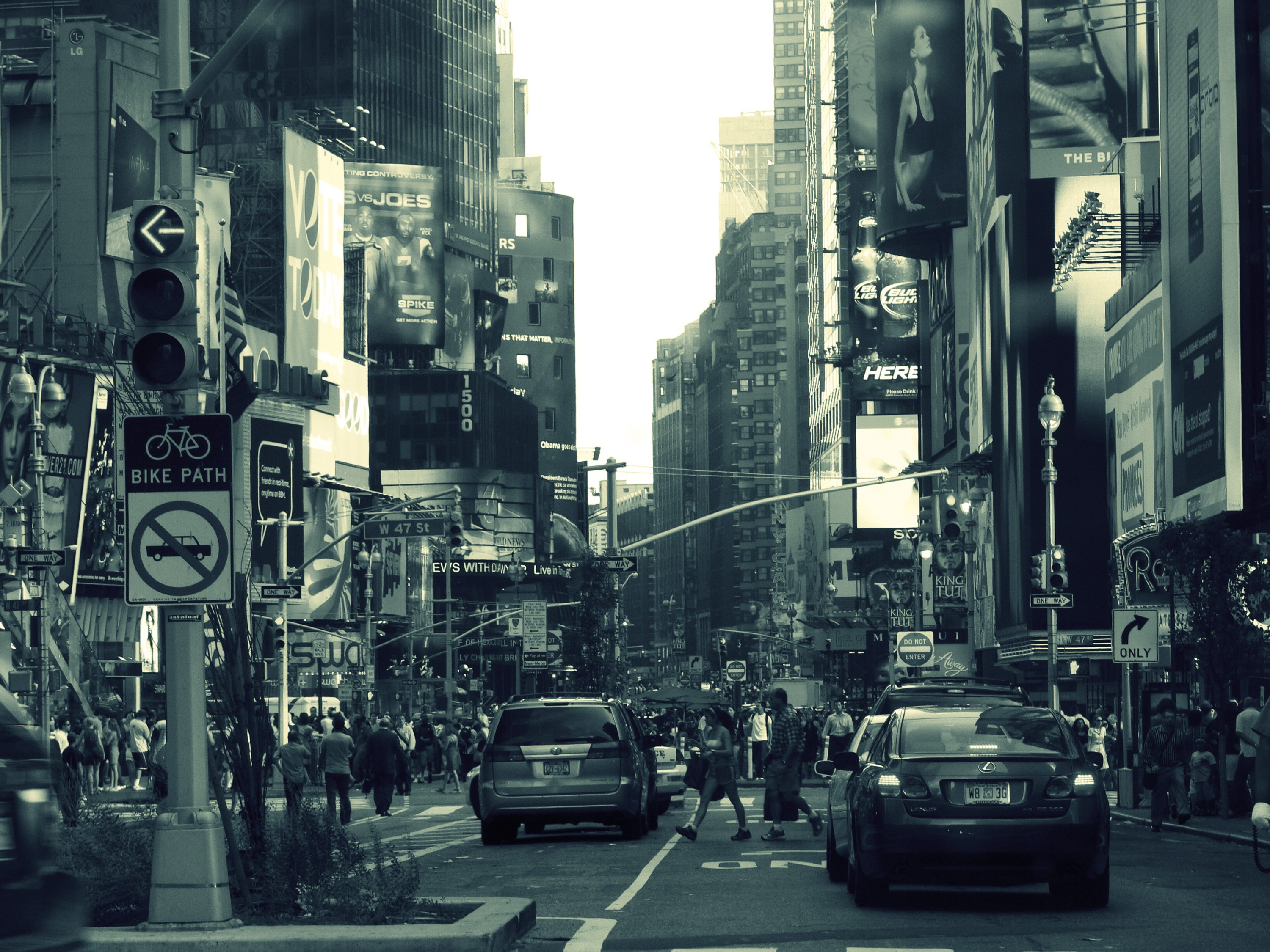 Cityscapes streets traffic wallpaper