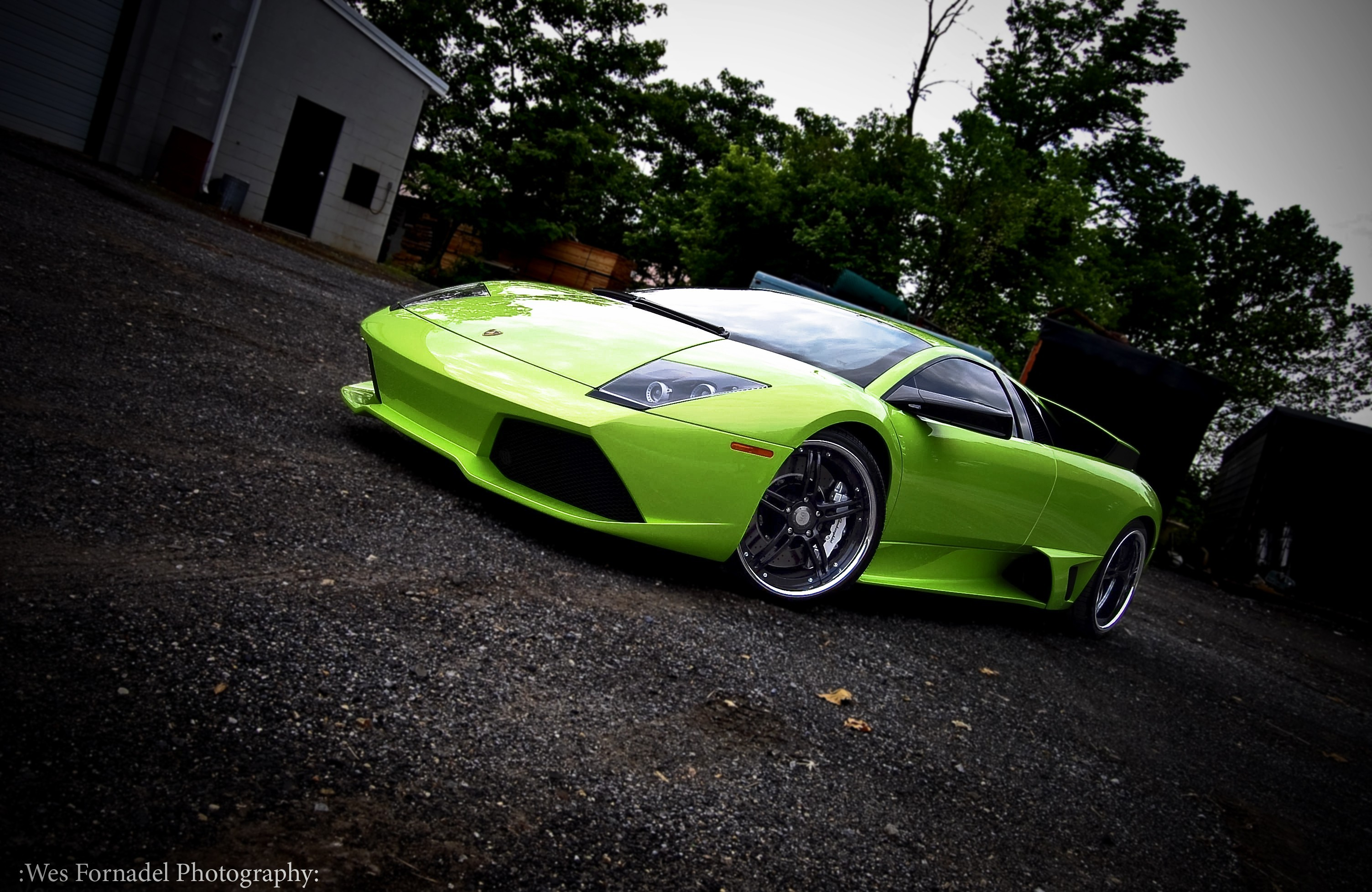 green sports car wallpaper - photo #44