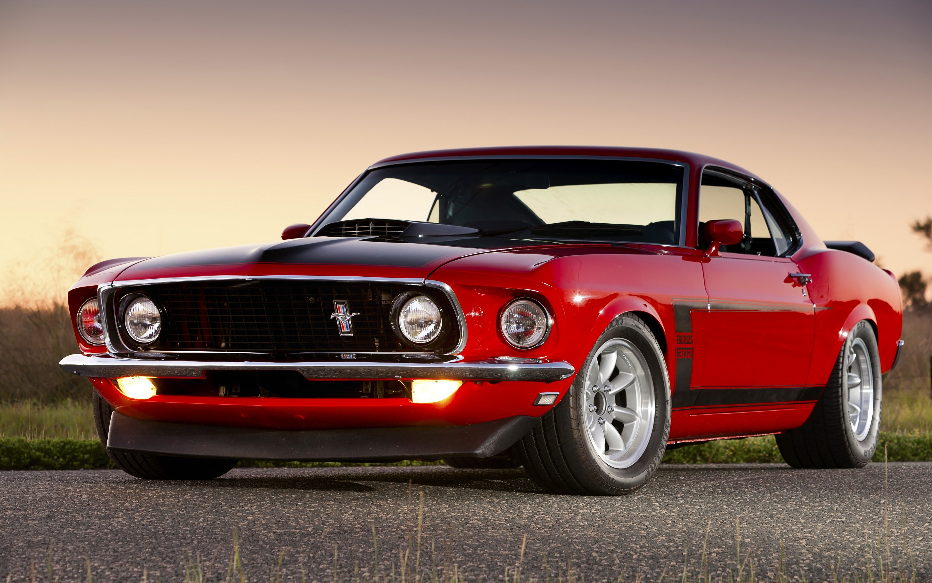 cars ford mustang boss 302 muscle car wallpaper. Black Bedroom Furniture Sets. Home Design Ideas