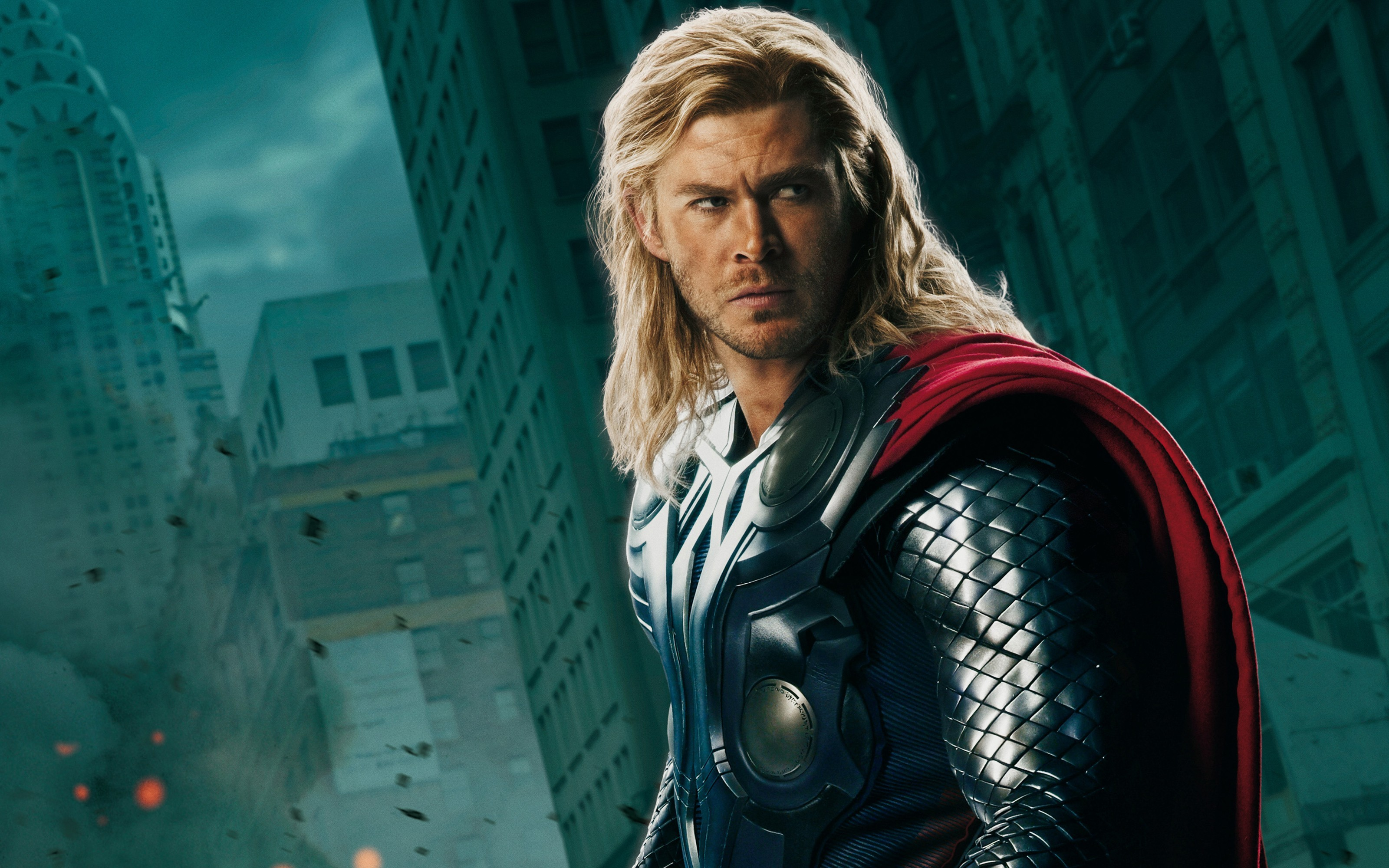 Chris Hemsworth The Avengers Movie Thor Wallpaper