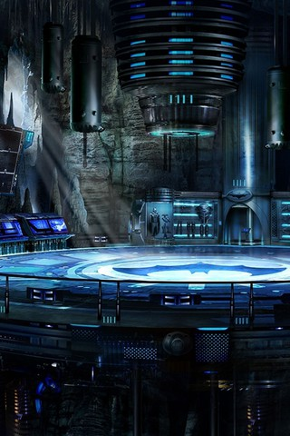 Batman Dc Comics Artwork Batcave The Dark Knight Wallpaper ...