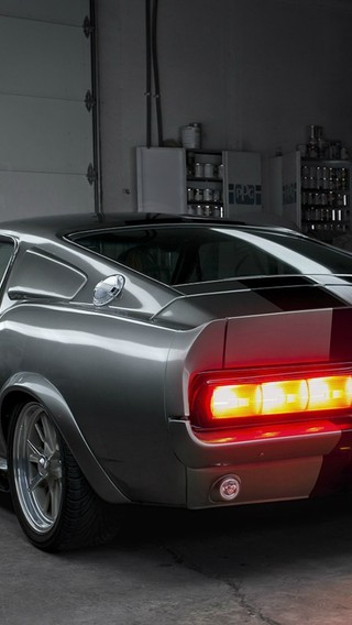 muscle cars ford shelby taillights garage ameerican