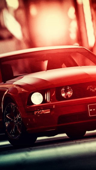 Video Games Cars Ford Mustang Races Wallpaper