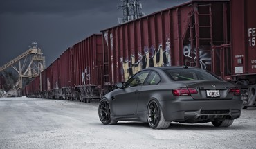 BMW E92 m3 Autos matt  HD wallpaper