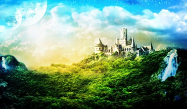 Fantasy Naturbilder  HD wallpaper