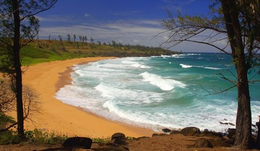 Donkey beach hawaii HD wallpaper