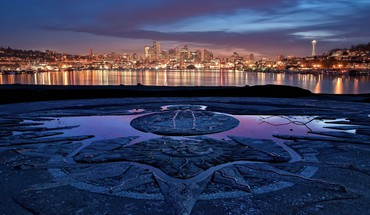Seattle Washington skyline  HD wallpaper