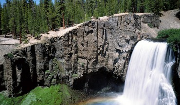 Falls california waterfalls HD wallpaper