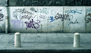 Mur villes graffiti  HD wallpaper