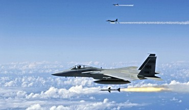 Avions F-15 Eagle  HD wallpaper