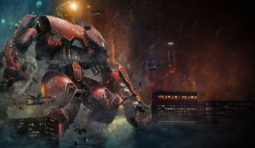 Crimson Pacific Rim  HD wallpaper