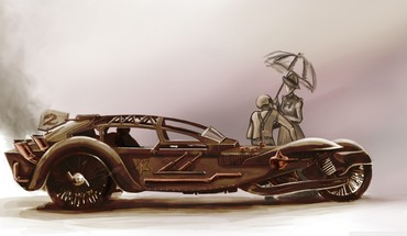 Cars fantasy art HD wallpaper