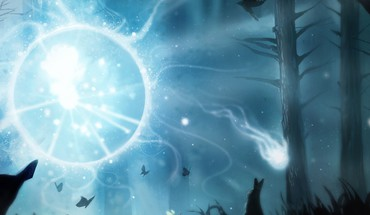 Dual screen dota 2 wisp HD wallpaper