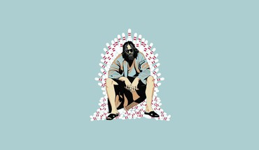 Minimalistic movies the dude big lebowski HD wallpaper