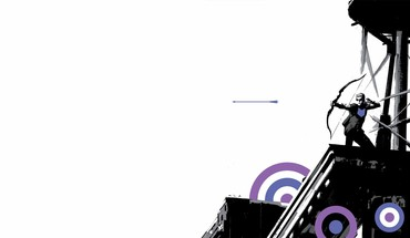 Comics hawkeye HD wallpaper