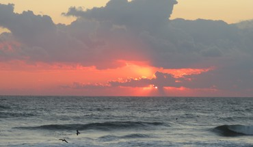 Paplūdimys Sunrise ne outerbanks  HD wallpaper