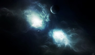Celestial space nebula HD wallpaper