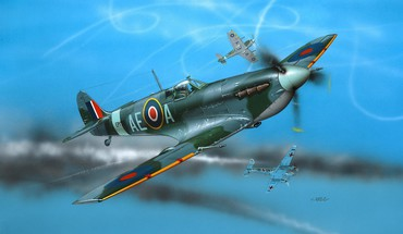 Aircraft supermarine spitfire HD wallpaper