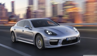 Автомобили Porsche Panamera 2014  HD wallpaper