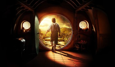 Bilbo Baggins Martin Freeman le hobbit shire  HD wallpaper