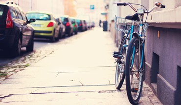 Bicycles parking shift streets HD wallpaper