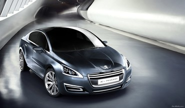 Peugeot cars concept art silver HD wallpaper