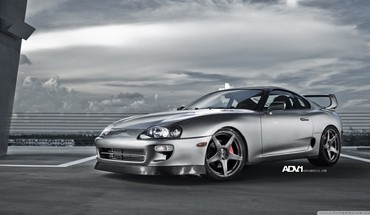 Cars toyota supra adv 1 adv1 wheels HD wallpaper