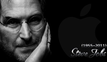 Black computers apple inc. mac steve jobs world HD wallpaper