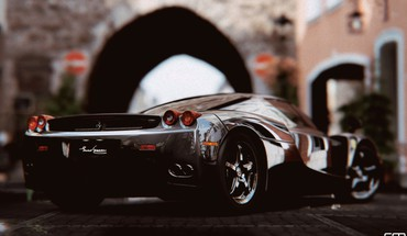 Enzo gran turismo 5 playstation 3 supercar HD wallpaper