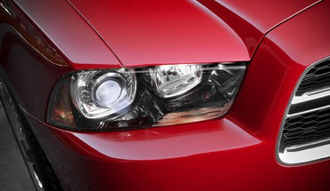 Dodge charger headlights muscle cars HD wallpaper