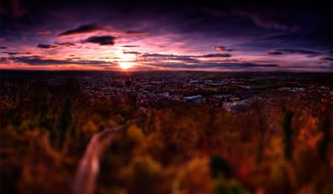Hdr photography landscapes tiltshift HD wallpaper