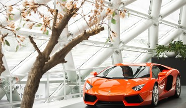 Cars lamborghini aventador HD wallpaper