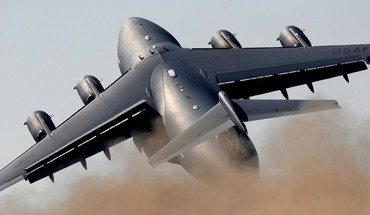 C-17 Globemaster lėktuvas Lockheed  HD wallpaper
