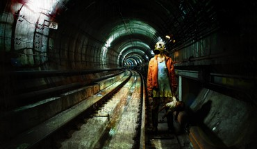 Metro 2034 subway HD wallpaper